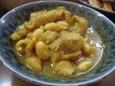 モツと豆のカレー煮(280円)