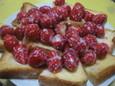 フレンチトースト練乳いちご