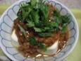 味噌味な納豆腐