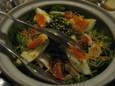 水菜と玉子のサラダ