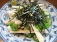 長芋とオクラ