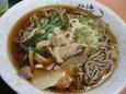 山菜と茸そば(480円)