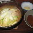 もつ鍋(480円)