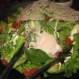 まぐろとアボカドのサラダ(580円)