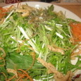 じゃこと水菜のサラダ(294円)