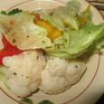 カリフラワーとブロッコリーのサラダ(200円)