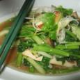 空芯菜とエリンギのタオチオ炒め(714円)