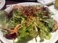 さくら水産のじゃこと水菜のサラダ