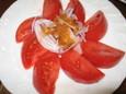 串奈坊の冷やしトマト