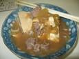 カレーハウス一番館の肉豆腐
