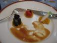 牛フィレ肉のグリエ 西洋ワサビ風味のソース