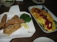 松竹梅のまぐろのスペアリブと豆腐オムレツ