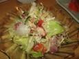 八キとり(やきとり)の刺身サラダ