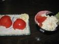 トマト、ポテトサラダ