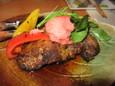 マグロの頬肉のステーキ(980円)