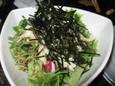 山芋と水菜のじゃこサラダ(480円)