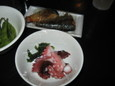 たこぶつ、サバ煮(各100円)