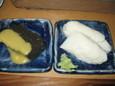 えご、蒲鉾(各250円)