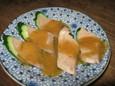レバーの酢味噌(300円)