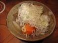 もつの白煮(400円)