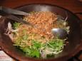 桜海老と大根のサラダ