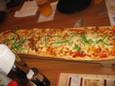 三色ロングピザ