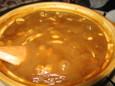 もつ入りカレー鍋