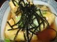 揚げ出し豆腐(350円)