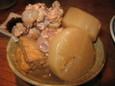 鶏肉と大根と厚揚げのあっさり煮(400円)