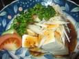中華風豆腐サラダ(300円)
