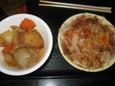 肉じゃが、オニオンスライス(100円)