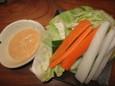野菜スティック(300円)