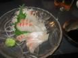 真鯛刺し(400円)