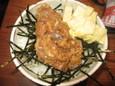 肉味噌鯵なめろうご飯