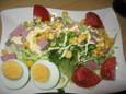 生野菜サラダ(450円?)