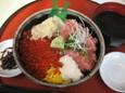 二色丼(1480円)