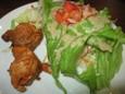 チキンティッカ&サラダ