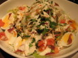 I生野菜とアンチョビのサラダ(550円)