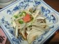 白もつポン酢(420円)