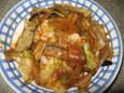 肉野菜辛味噌炒め