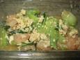 チンゲン菜炒め(126円)