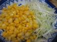 コーンサラダ(250円)