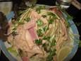 ショルダーベーコンのサラダ(380円)