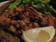 鶏の唐揚(390円)