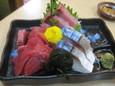 刺身三品盛合(600円)
