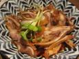 豚ナンコツぴり辛煮(420円)