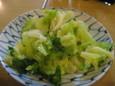キャベツの塩漬け(210円)