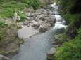奥多摩の渓谷