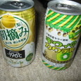 梨とキウイの缶チューハイ