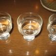 利き酒のみくらべせっと(650円)